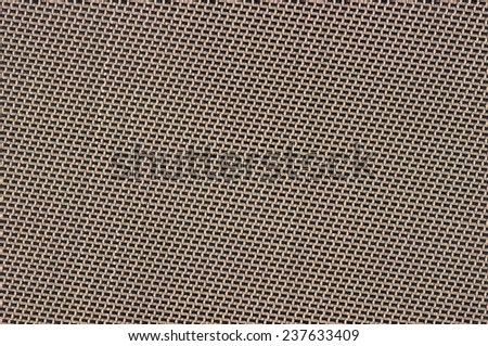 Woven beige and black background texture - stock photo