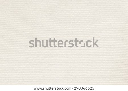 Woven cotton fabrics textile textured background in light cream beige color tone    - stock photo