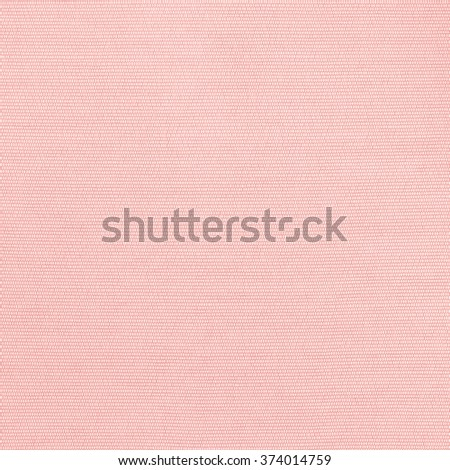 Woven cotton linen fabric textile textured backdrop in pastel light sweet romantic old rose pink red color tone: Flax satin cloth detail pattern wallpaper in warm toned colour: Eco friendly material - stock photo