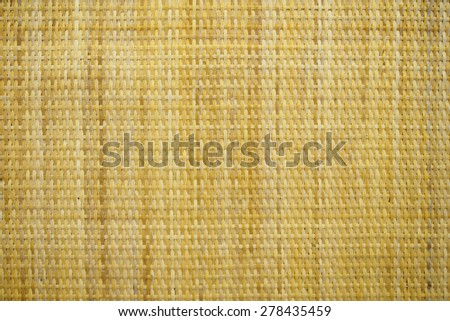 woven rattan background - stock photo