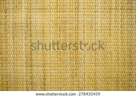 woven rattan background - stock photo