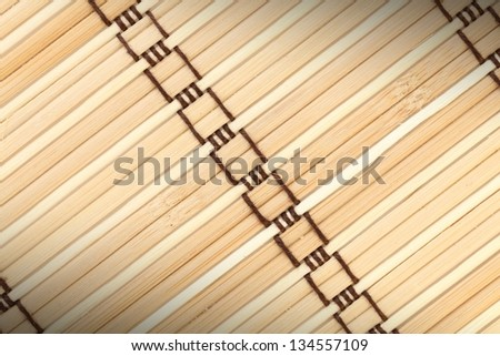 woven rattan with natural patterns background