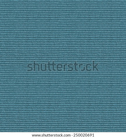 Woven white fabric texture. Knitted closeup seamless texture. Knitwear line strips blue cloth - stock photo