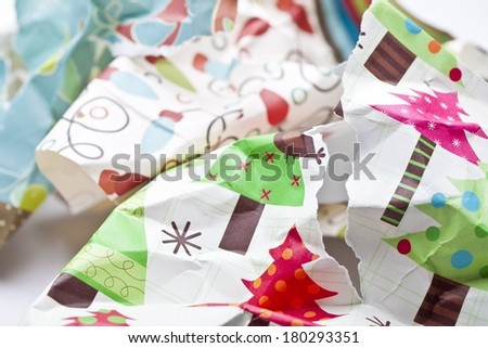 Wrapping Paper - stock photo