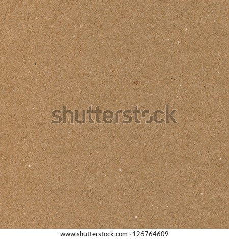 Wrapping paper brown cardboard texture, natural rough textured copy space background, dark tan, yellow, beige - stock photo