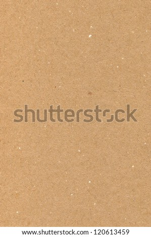 Wrapping paper brown cardboard texture, natural rough textured copy space background, light tan, yellow, beige vertical closeup - stock photo