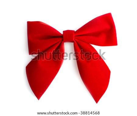Wreath bow - stock photo