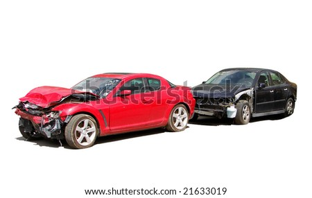 wreck - stock photo