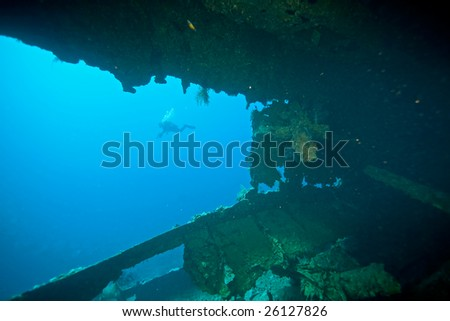Wreck Dunraven 1876