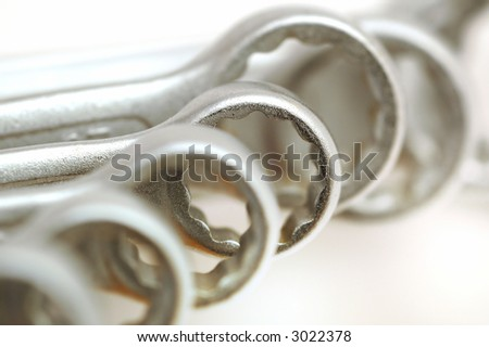 wrench - stock photo