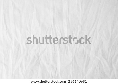 Wrinkle unbleached cotton texture background, grunge, vintage