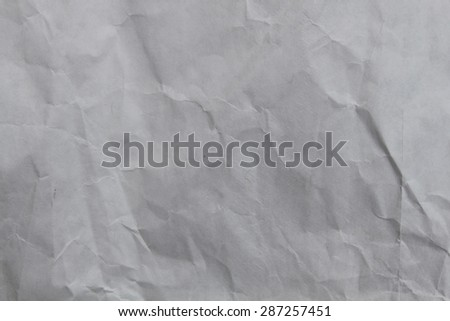 Wrinkled old paper - stock photo