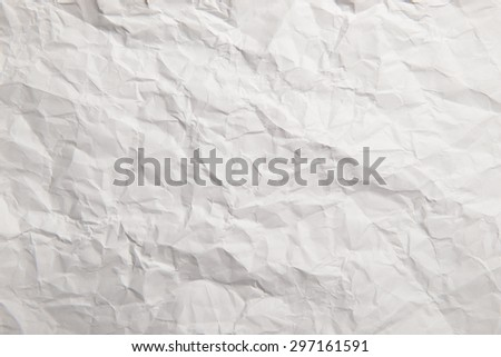 wrinkled paper great as a background - stock photo