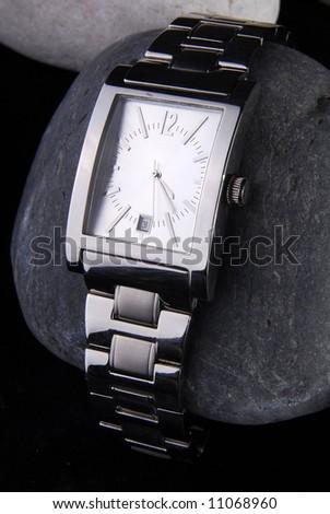 wrist watch - stock photo