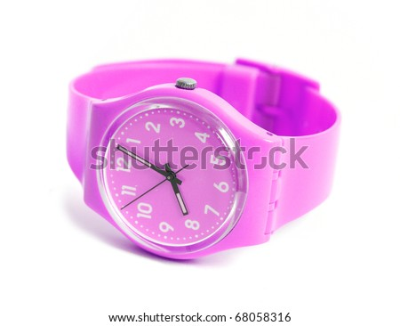 Wristwatch - stock photo