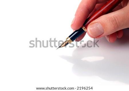 write #6 - stock photo