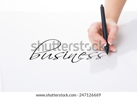 write down business