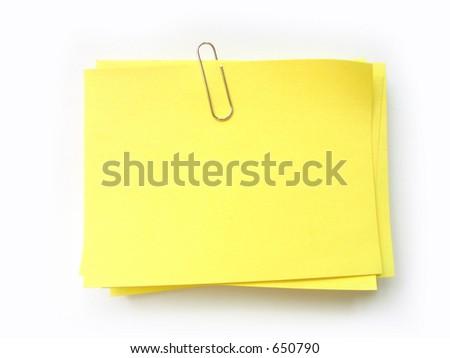 write note on it! - stock photo