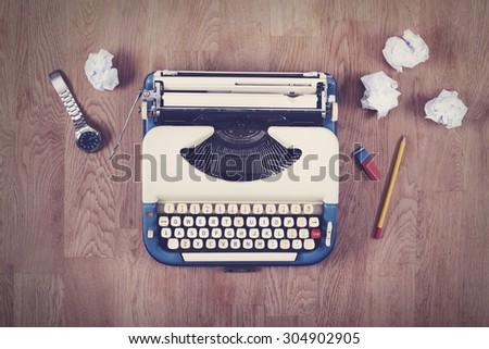 writers block - stock photo