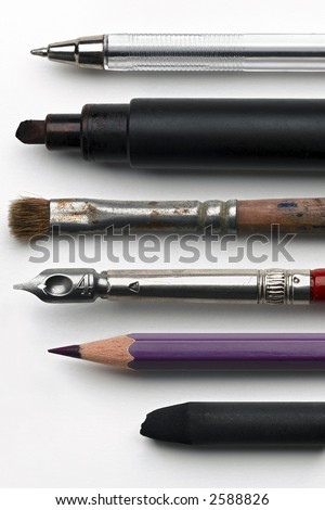 Writing utensil Stock Photos, Images, & Pictures  Shutterstock