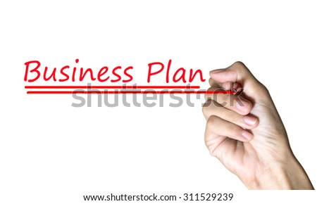 writing business plan concept