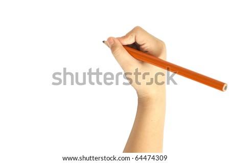 Writing/ Draw - stock photo
