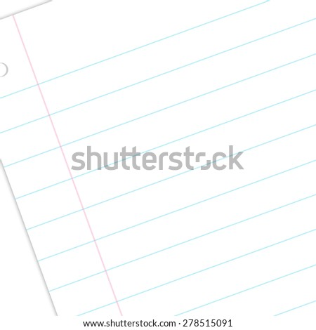 Writing Paper - stock photo