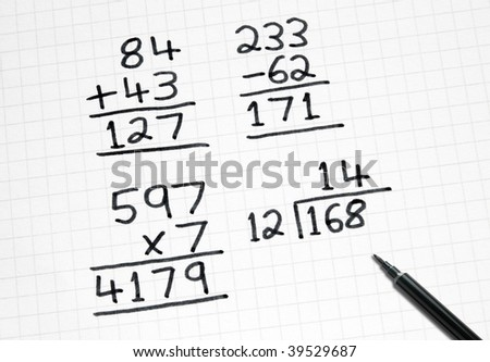 Math Sum Stock Images, Royalty-Free Images & Vectors | Shutterstock