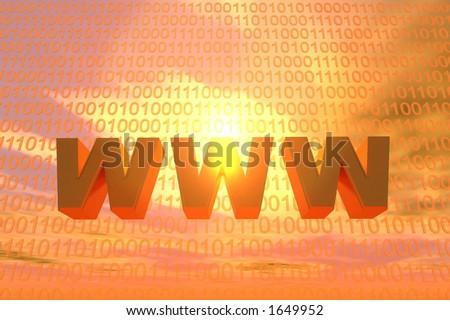 www - stock photo