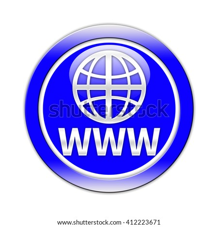 www button isolated
