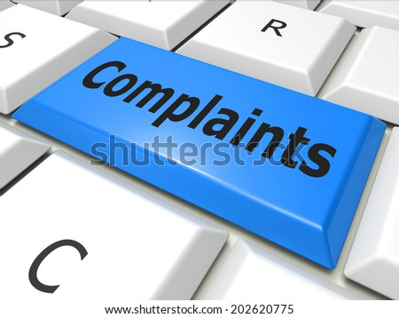 Www Complaints Representing World Wide Web And Web Site - stock photo