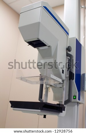 X-ray unit in the hospital - stock photo