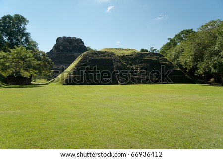 Xanantunich, ancient mayan ruins located in Belize, Latin america