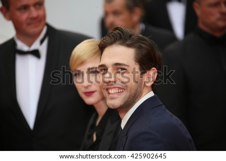 Xavier Dolan, Producer Nancy Grant  attend the Closing Ceremony of the 69th annual Cannes Film Festival at the Palais des Festivals on May 22, 2016 in Cannes, France.