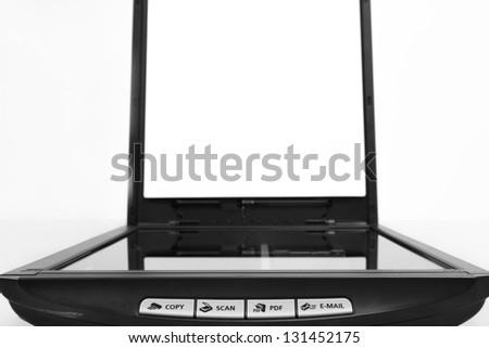 Xerox scanner business - stock photo