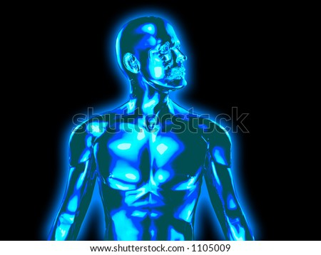 xray type image - stock photo