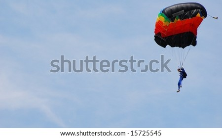 XU Xei of Chine participates in FAI - World parachuting championship, 26 july- 2 august, 2008 in Lucenec - Bolkovce, Slovakia