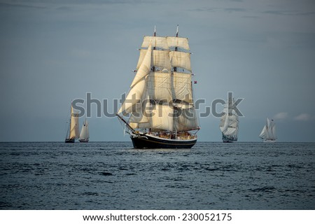 Yachting. Sailing and Yacht Collection - stock photo