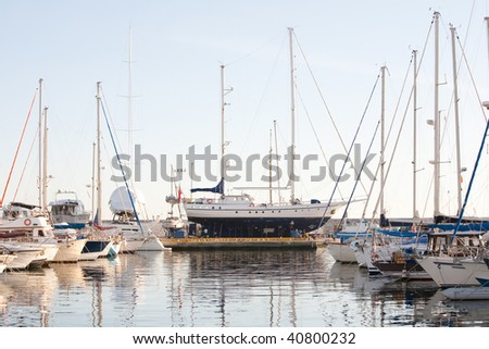 YACHTS DIFFER FROM WORKING SHIPS MAINLY BY THEIR LEISURE PURPOSE, AND IT WAS NOT UNTIL THE RISE OF THE STEAMBOAT THAT SAILING VESSELS IN GENERAL CAME TO BE PERCEIVED AS LUXURY OR RECREATIONAL VESSELS