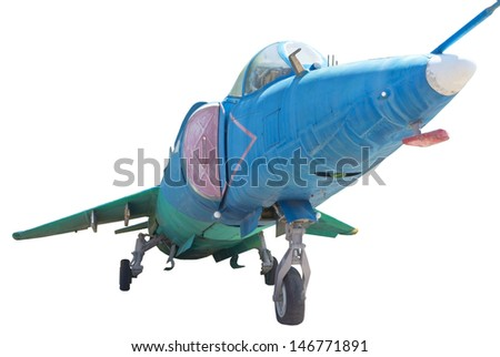 Yakovlev Yak-38 ( NATO reporting name: Forger) was Soviet Naval Aviation's first and only operational VTOL strike fighter aircraft
