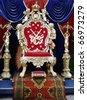 YALTA, UKRAINE - OCTOBER 27: a furniture exhibition in Baroque taste October 27, 2010 in Yalta, Ukraine - stock photo