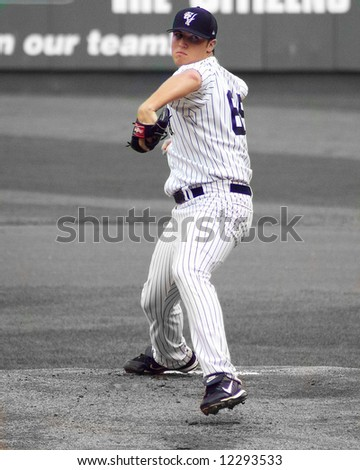 Yankees Pitcher, Phil Hughes, Rookie - stock photo