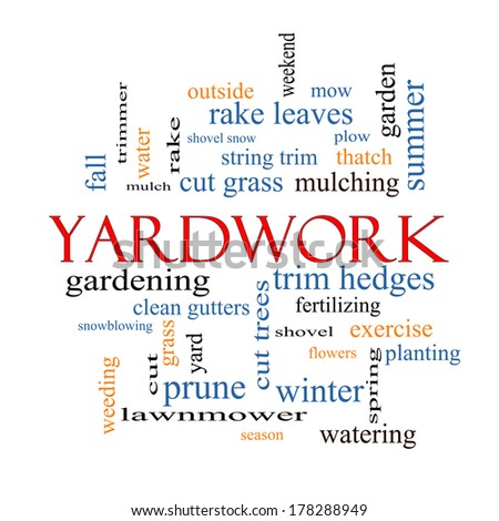 Yardwork Stock Photos, Images, & Pictures | Shutterstock