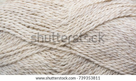 yarn of sheep's wool background fabric, texture,
