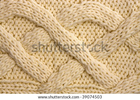 yarn texture - stock photo