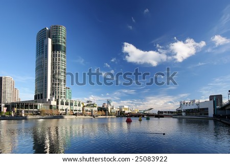 Yarra River, Melbourne - stock photo
