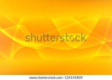 Yellow Abstract Background - stock photo