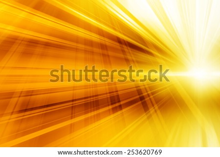Yellow Abstract Dynamic Art Futuristic Background Design - stock photo