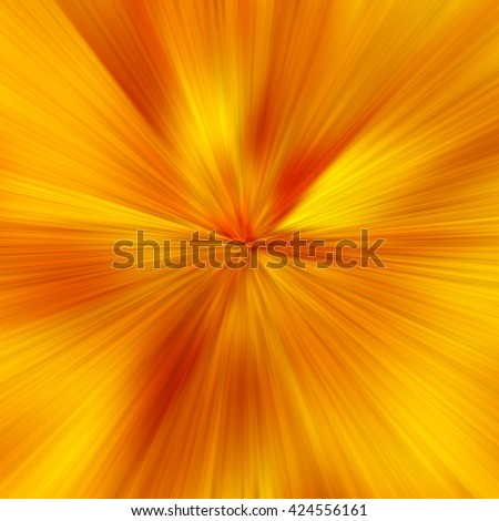 Yellow Abstract Zoom Motion background