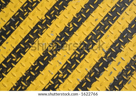 Yellow and black - stock photo